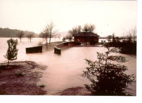 Flood at Spring Lake