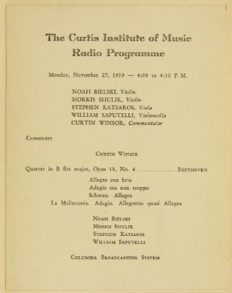 The Curtis Institute of Music photo