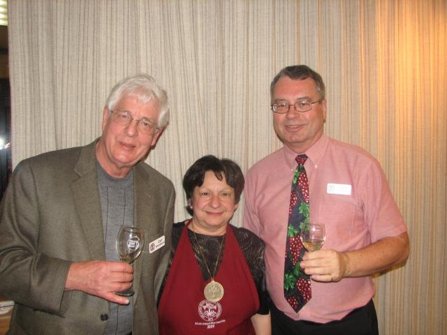 Carl Brandhorst, Anne Vercelli, David Barber