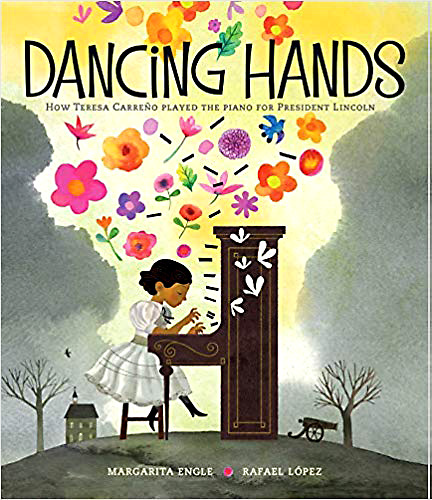 Dancing hands book cover image