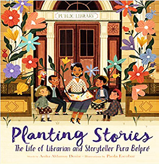 Planting stories book cover image