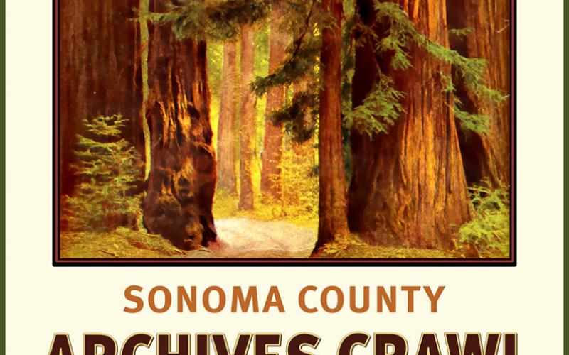 Sonoma County Archives Crawl photo