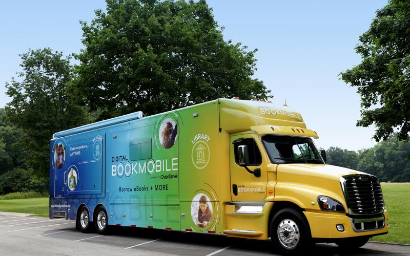 Digital Bookmobile photo