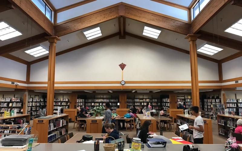 Busy afternoon at Rincon Valley Regional Library