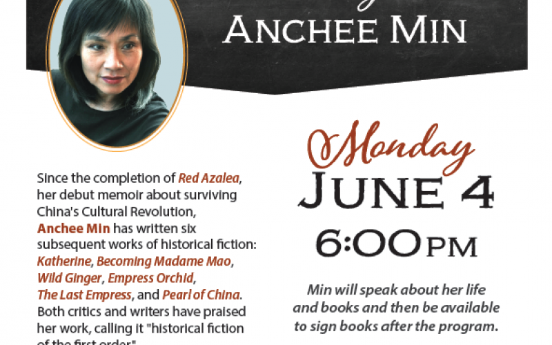 Author Anchee Min visits Rincon Valley Library
