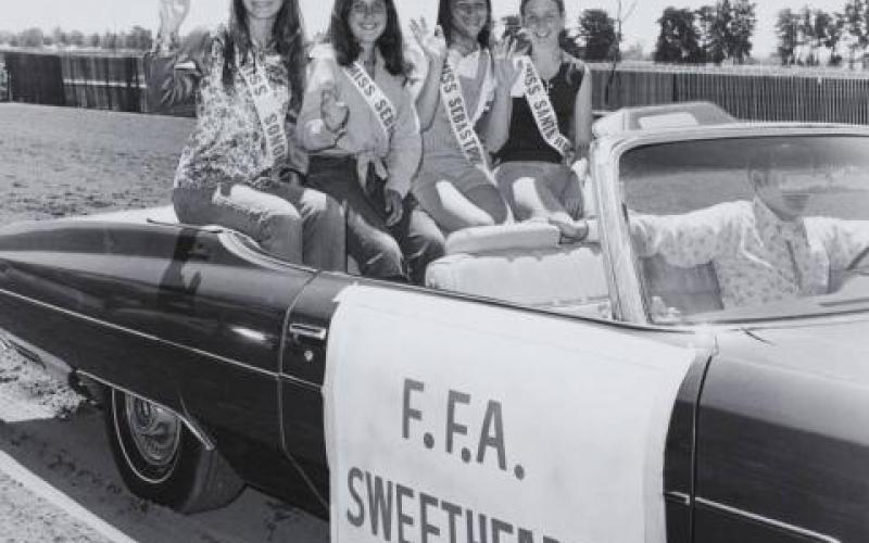 FFA Sweethearts at the Sonoma County Fair photo