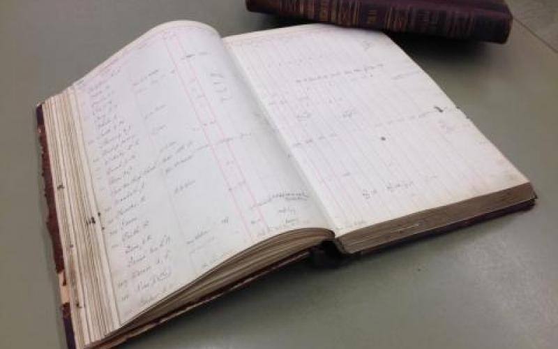 Santa Rosa Water Works Ledgers Donated to the Library