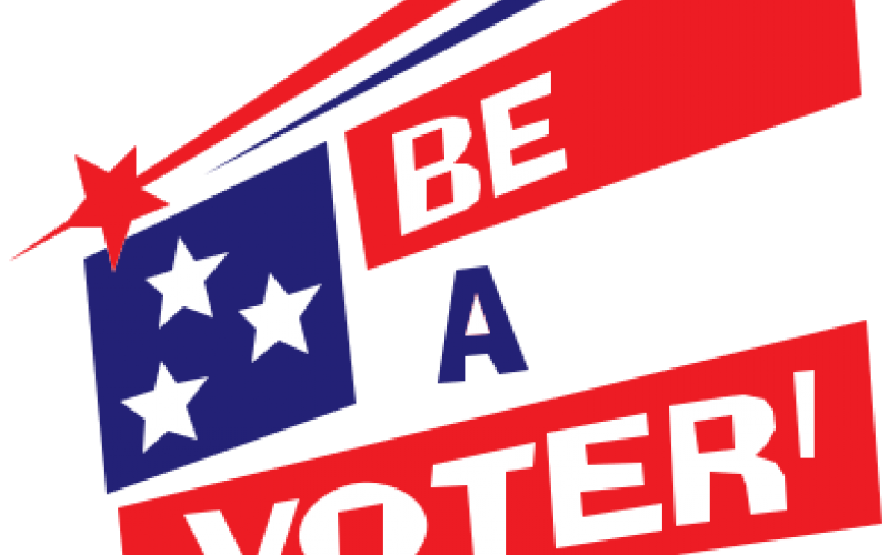 Be a Voter logo
