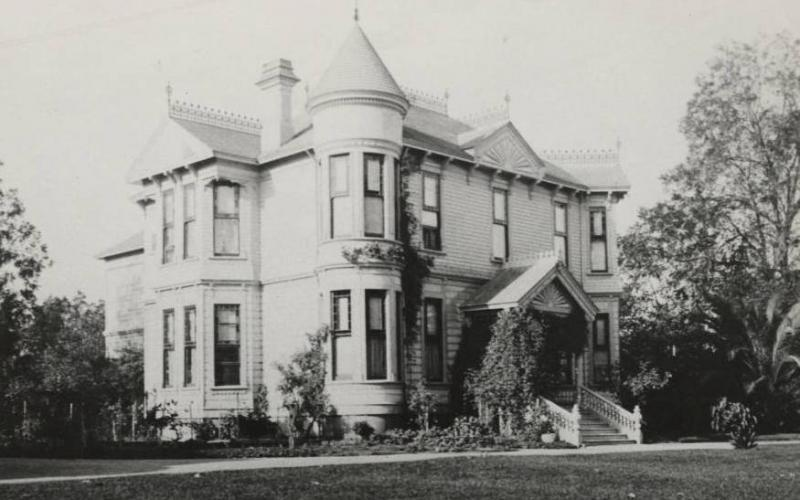 The Isabel Grigsby Denman home at 312 Sixth Street, Petaluma, CA. Photo courtesy of the Sonoma County Library