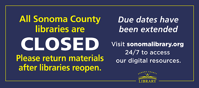 Library branches closed, digital library open