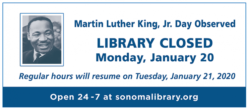 Library Buildings Closed for MLK Day image