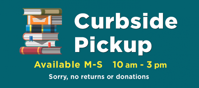 Curbside Pickup at the Library image