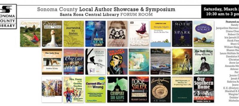 Meet local talent and learn from the best at the Local Author Showcase & Symposium at the Central Library on March 28.