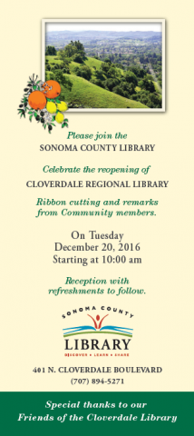 Cloverdale reopens