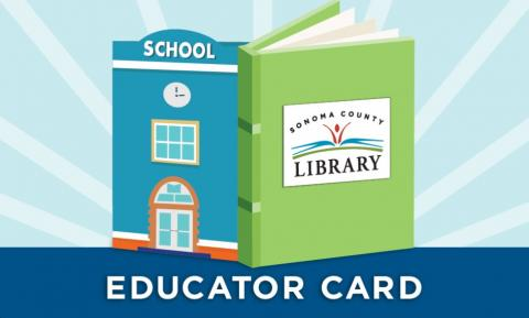 school and library partnership with educator card