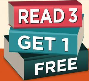 Read 3 Get 1 Free image