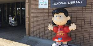 Lucy at the Northwest Regional Library photo