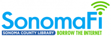 SonomaFi - Borrow the Internet logo